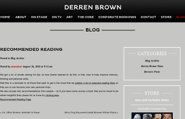 http://derrenbrown.co.uk/recommended-reading/