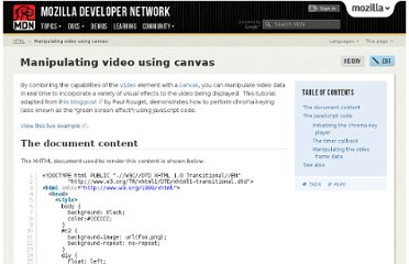 https://developer.mozilla.org/en-US/docs/HTML/Manipulating_video_using_canvas