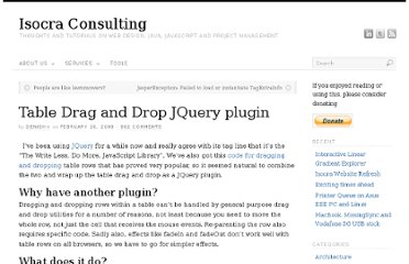 http://isocra.com/2008/02/table-drag-and-drop-jquery-plugin/