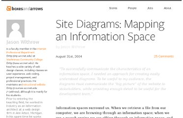 http://boxesandarrows.com/site-diagrams-mapping-an-information-space/