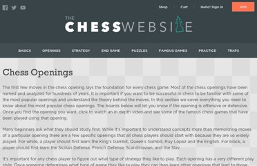 http://www.thechesswebsite.com/chess-openings/