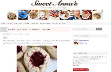 http://sweetannas.com/2011/12/raspberry-almond-thumbprint-cookies.html