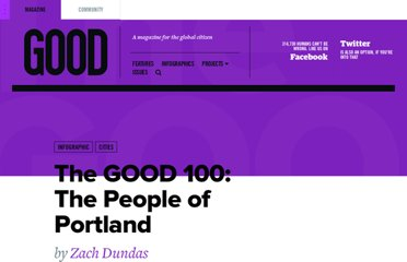 http://www.good.is/posts/the-good-100-the-people-of-portland