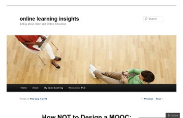 http://onlinelearninginsights.wordpress.com/2013/02/01/how-not-to-design-a-mooc-the-disaster-at-coursera-and-how-to-fix-it/