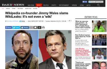 http://www.nydailynews.com/news/world/wikipedia-co-founder-jimmy-wales-slams-wikileaks-wiki-article-1.443354