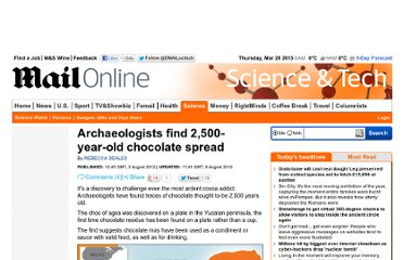http://www.dailymail.co.uk/sciencetech/article-2183157/Archaeologists-2-500-year-old-chocolate-spread.html