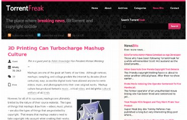 http://torrentfreak.com/3d-printing-can-turbocharge-mashup-culture-130130/