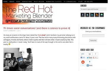 http://www.redhotmarketingblender.com/2013/02/tv-drives-social-conversations/
