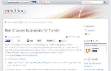 http://blog.cometdocs.com/best-browser-extensions-for-tumblr
