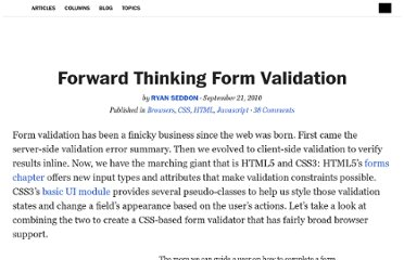 http://alistapart.com/article/forward-thinking-form-validation