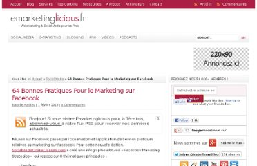 http://www.emarketinglicious.fr/social-media/64-bonnes-pratiques-marketing-sur-facebook