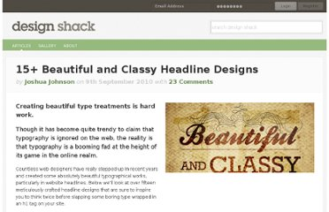 http://designshack.net/articles/graphics/15-beautiful-and-classy-headline-designs/
