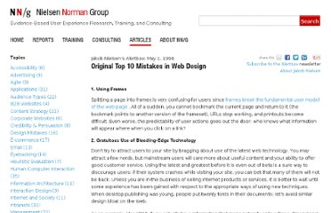 http://www.nngroup.com/articles/original-top-ten-mistakes-in-web-design/