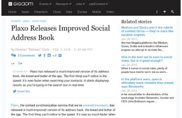 http://gigaom.com/2010/02/03/plaxo-releases-improved-social-address-book/