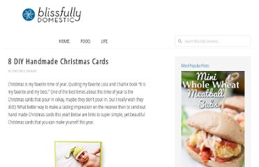 http://blissfullydomestic.com/life-bliss/8-dyi-handmade-christmas-cards/109546/