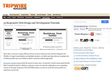 http://www.tripwiremagazine.com/2012/11/responsive-web-design-and-development-tutorials.html