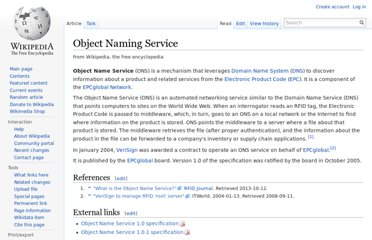 https://en.wikipedia.org/wiki/Object_Naming_Service