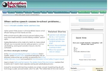 http://educationtechnews.com/when-online-speech-causes-in-school-problems/