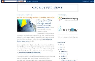 http://crowdfundnews.blogspot.com/2010/08/are-banks-finally-awake-abn-amro-is-for.html