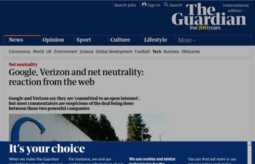 http://www.guardian.co.uk/technology/2010/aug/10/google-verizon-net-neutrality-reaction
