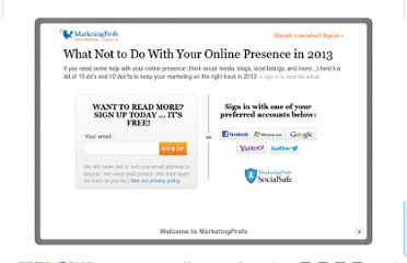 http://www.marketingprofs.com/articles/2013/10006/what-not-to-do-with-your-online-presence-in-2013
