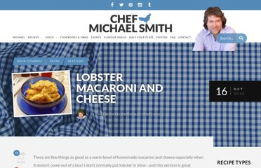 http://chefmichaelsmith.com/recipe/lobster-macaroni-and-cheese/