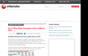 http://www.emarketer.com/Article/One-Three-Online-Consumers-Use-Tablet-by-2014/1008701