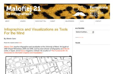 http://www.malofiej21.com/infographics-and-visualizations-as-tools-for-the-mind/