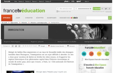 http://education.francetv.fr/dossier/immigration-o17785