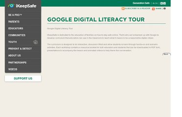 http://www.ikeepsafe.org/educators/more/google-digital-literacy-tour/