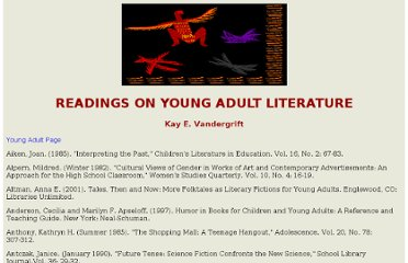 http://comminfo.rutgers.edu/professional-development/childlit/YoungAdult/YAread.html