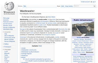 http://en.wikipedia.org/wiki/Wastewater#Treatment