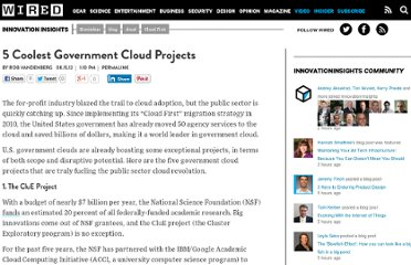 http://www.wired.com/insights/2012/08/5-coolest-gov-cloud-projects/