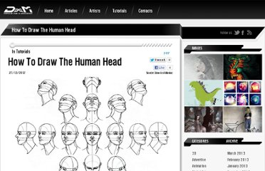 http://drawasamaniac.com/2012/12/how-to-draw-the-human-head.html