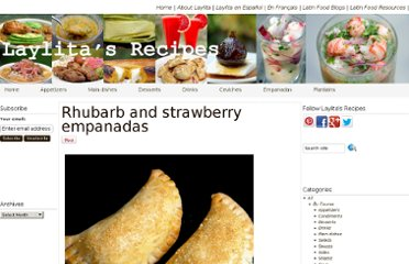 http://laylita.com/recipes/2008/05/18/rhubarb-and-strawberry-empanadas/