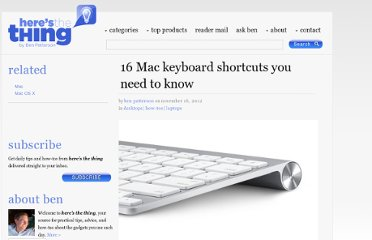 http://heresthethingblog.com/2012/11/16/16-mac-shortcuts/