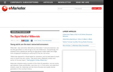 http://www.emarketer.com/Article/Digital-World-of-Millennials/1008382