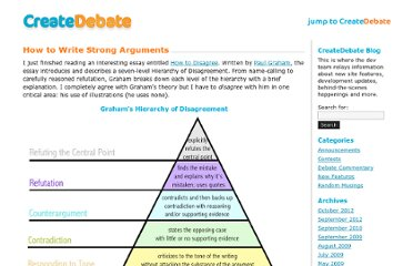 http://blog.createdebate.com/2008/04/07/writing-strong-arguments/