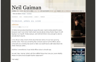 http://journal.neilgaiman.com/2008/04/advice.html