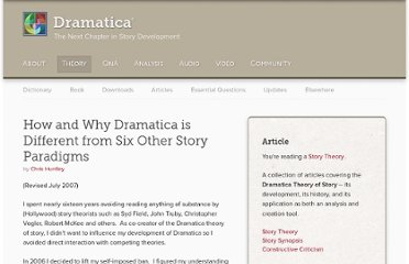 http://dramatica.com/articles/how-and-why-dramatica-is-different-from-six-other-story-paradigms