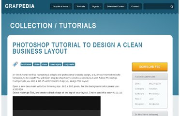 http://grafpedia.com/tutorials/photoshop-tutorial-to-design-a-clean-business-layout
