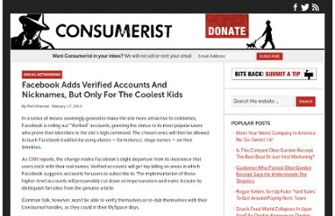 http://consumerist.com/2012/02/17/facebook-adds-verified-accounts-and-nicknames-but-only-for-the-coolest-kids/