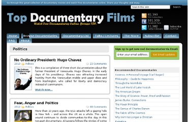 Politics | Watch Free Documentaries Online. You, Me, and the SPP: Trading ...