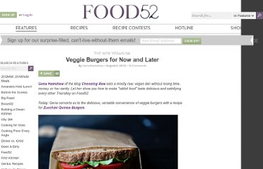 http://food52.com/blog/4192-veggie-burgers-for-now-and-later