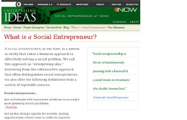 http://www.pbs.org/now/enterprisingideas/what-is.html