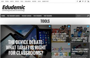 http://edudemic.com/new-tools/