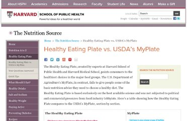 http://www.hsph.harvard.edu/nutritionsource/healthy-eating-plate-vs-usda-myplate/