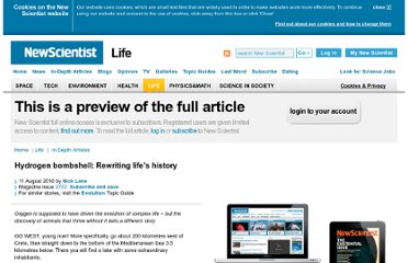 http://www.newscientist.com/article/mg20727721.400-hydrogen-bombshell-rewriting-lifes-history.html?page=3