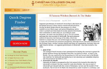 http://www.christiancollegesonline.org/blog/2010/8-famous-witches-burned-at-the-stake/