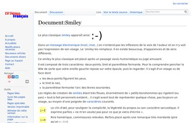 http://jargonf.org/wiki/Document:Smiley